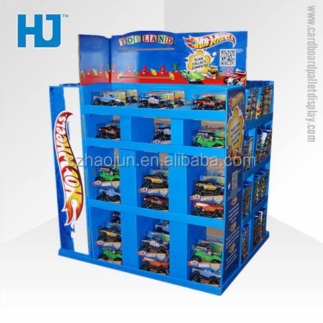 Conception personnalisée <span class=keywords><strong>en</strong></span> métal décoratif bacs de rangement pour jouet d'enfant, réutilisent le matériel playmobile pop de dessus de compteur de carton d'affichage