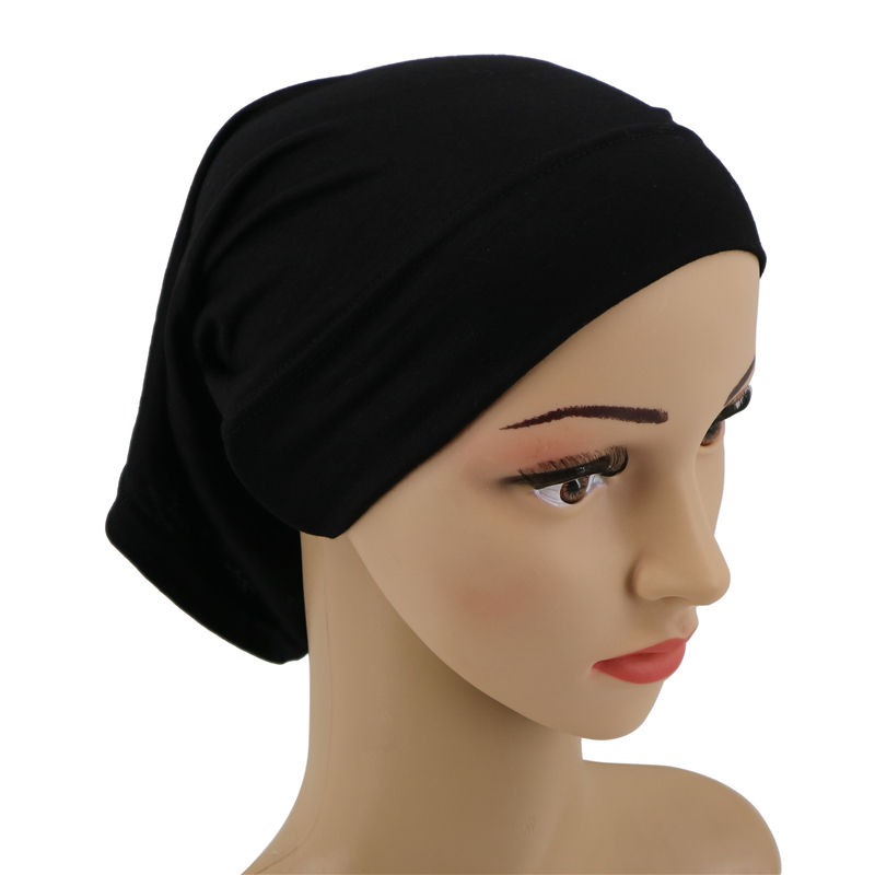 wholesale fashion arab women plain hijab scarf inner caps muslim hijab hat