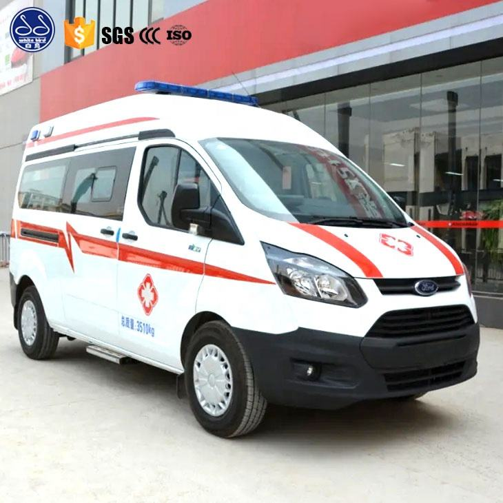 New Condition Emergence Vehicles Electric Ambulance Car