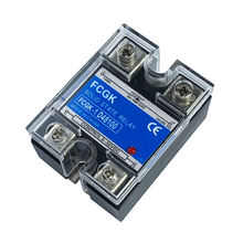 FCGK High Voltage Single Phase DC Control AC Solid State Relay 100A 24-480VAC SSR relay