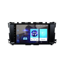 "9"" android Car  player with navigation reverse camera rear view video radio mirrorring BT For Nissan Altima Teana 2013 -2017"