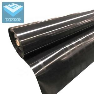 Anti-septic HDPE LDPE plastic Smooth Black Geomembranes fish farming pond Liners factory supply wholesale price
