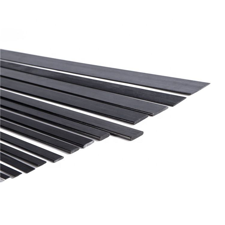 2020 Best Selling Factory Direct Profile Pultruded Carbon Fiber Solid Bar Strip