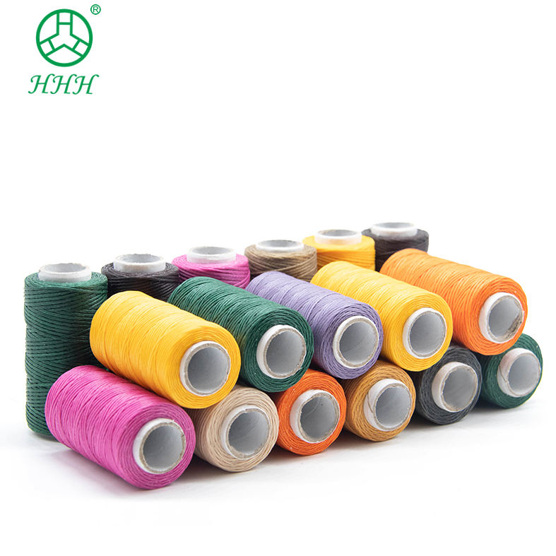price factory supply 1mm machine Sewing shoes polyester Waxed thread hilo de coser