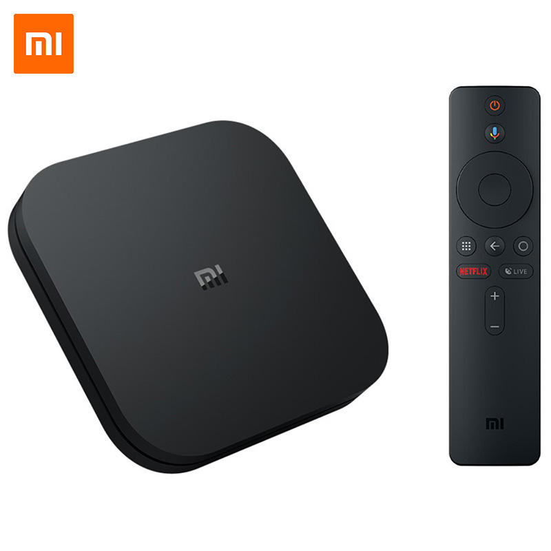 New Generation Global Version Xiaomi MI BOX S Android TV 8.1 4K Ultra HD Set top Box
