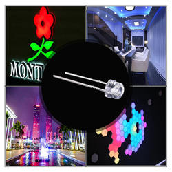 2020 Wenen LED dot matrix module F5 RGB LED DIP lamp beads
