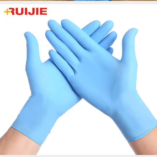 China Types Medical Supplies Latex Examination Gloves