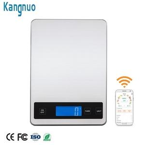 Stainless Smart App Food Nutrition Electronic Digital Weighing Bluetooth Kitchen Scale