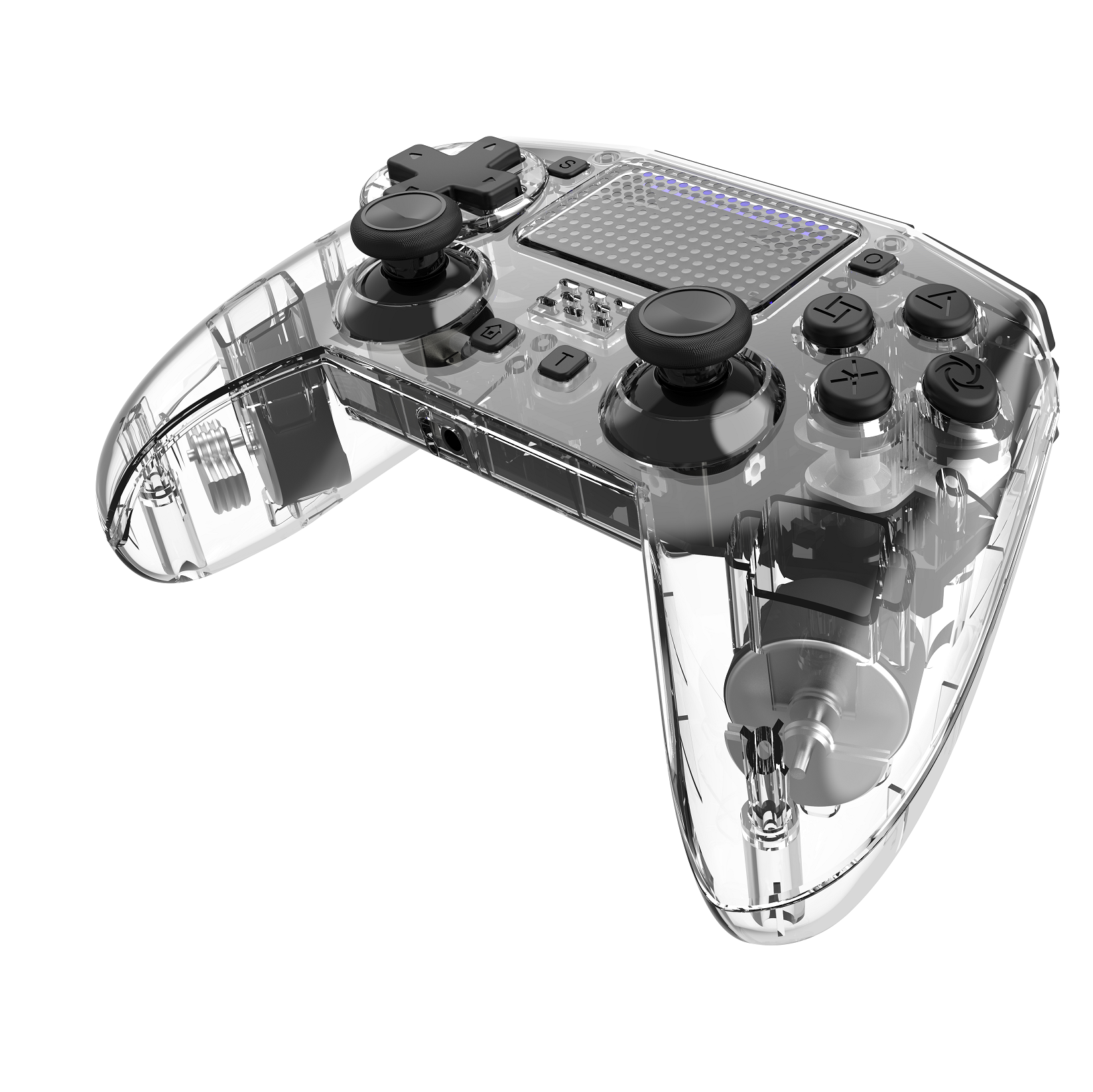 Nieuwe Patroon Draadloze Controller <span class=keywords><strong>6</strong></span> Axis Game Console Professionele Gaming Touch Draagbare Mobiele Voor P4