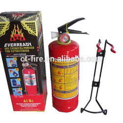 1kg with color box fire extinguisher 1kg with steel bracket fire extinguisher