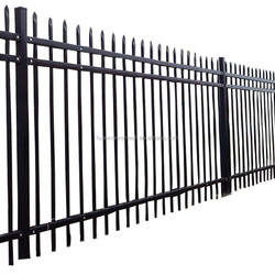 High quality anti rust steel fence / Wrought Iron Fence Panel