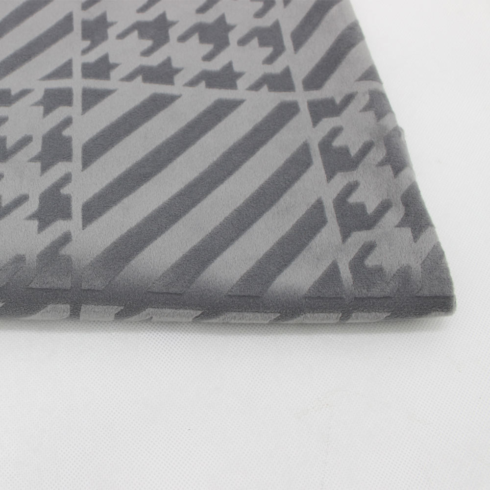 Popüler Kabartmalı% 100 Polyester Yumuşak Boa Shell Kumaş