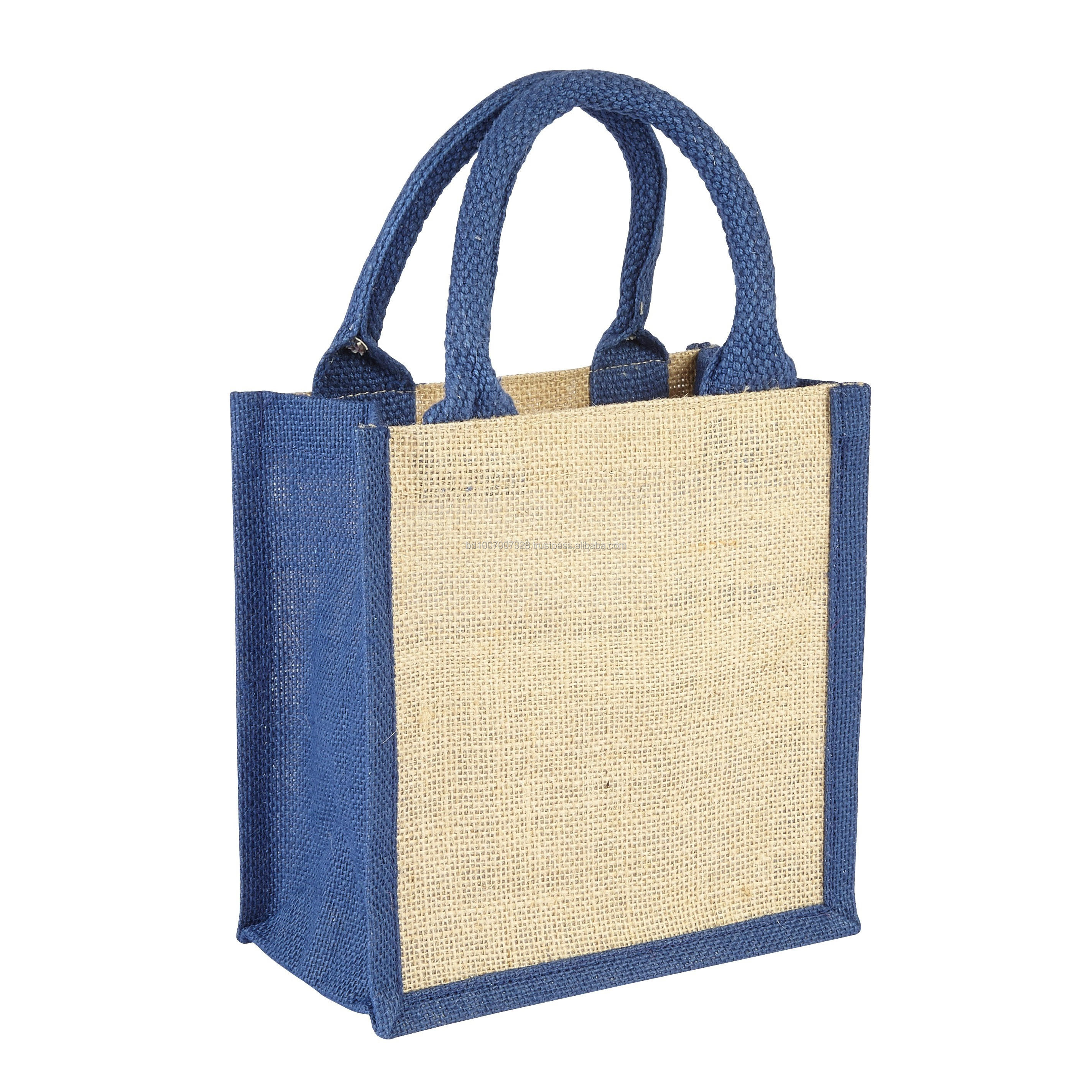 100% Export Quality Cheap Price Reusable Jute Fashion Shopping Lunch Bag From Bangladesh