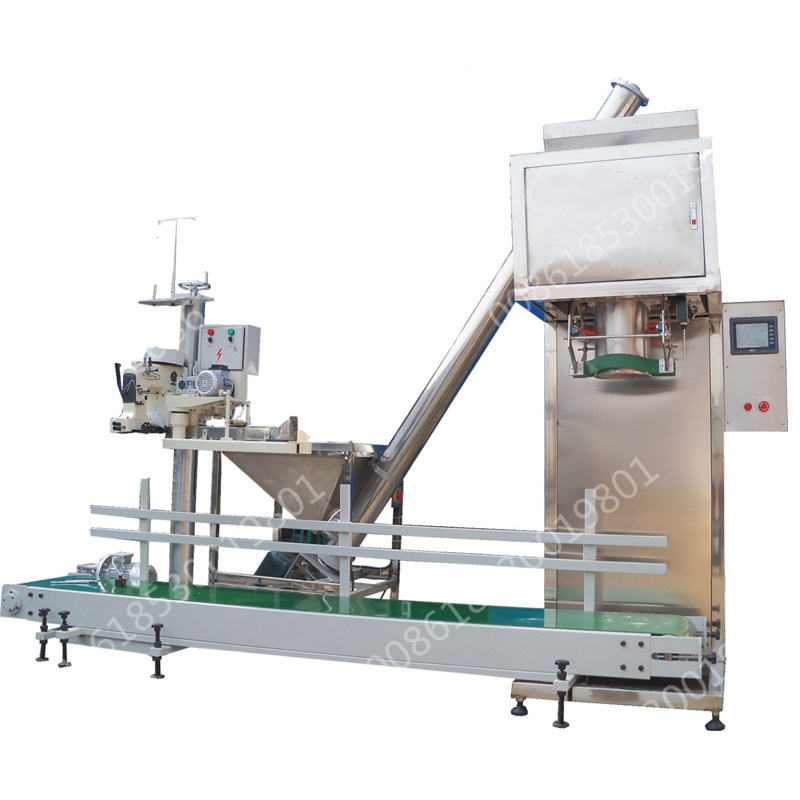 Cement Bag Filling Sewing Machine for Powder 50 Kg low cost of powder filling machine 6-16kg/min