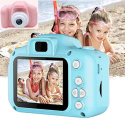 Cartoon 2 Inch HD Screen Digital Cameras Video Recorder Camc