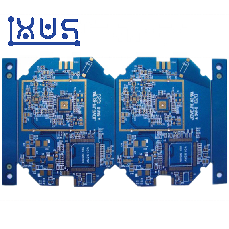 XWS Manufacturers Custom Deep Blue 6mil Printed Circuit Boards PCB Factory