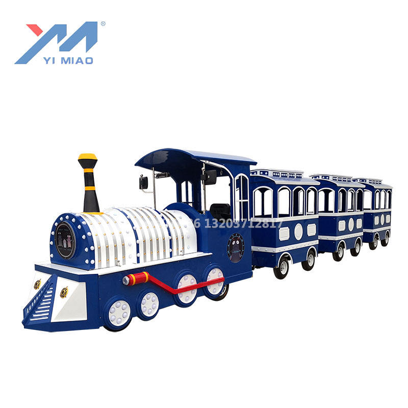 Safari train Electric trackless Tourist Train for shopping malls