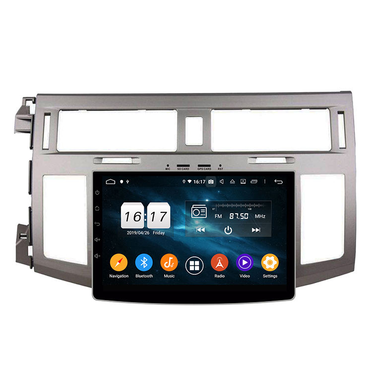 Android 9.0 Car DVD GPS Player PX5 Octa Core Radio Mobil untuk Toyota Avalon 2008-2010
