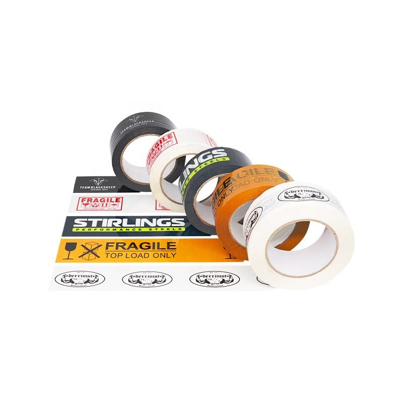 16 Years Factory Free Samples Strong Adhesive Custom Logo Printed Bopp Packing Tape With Company Logo