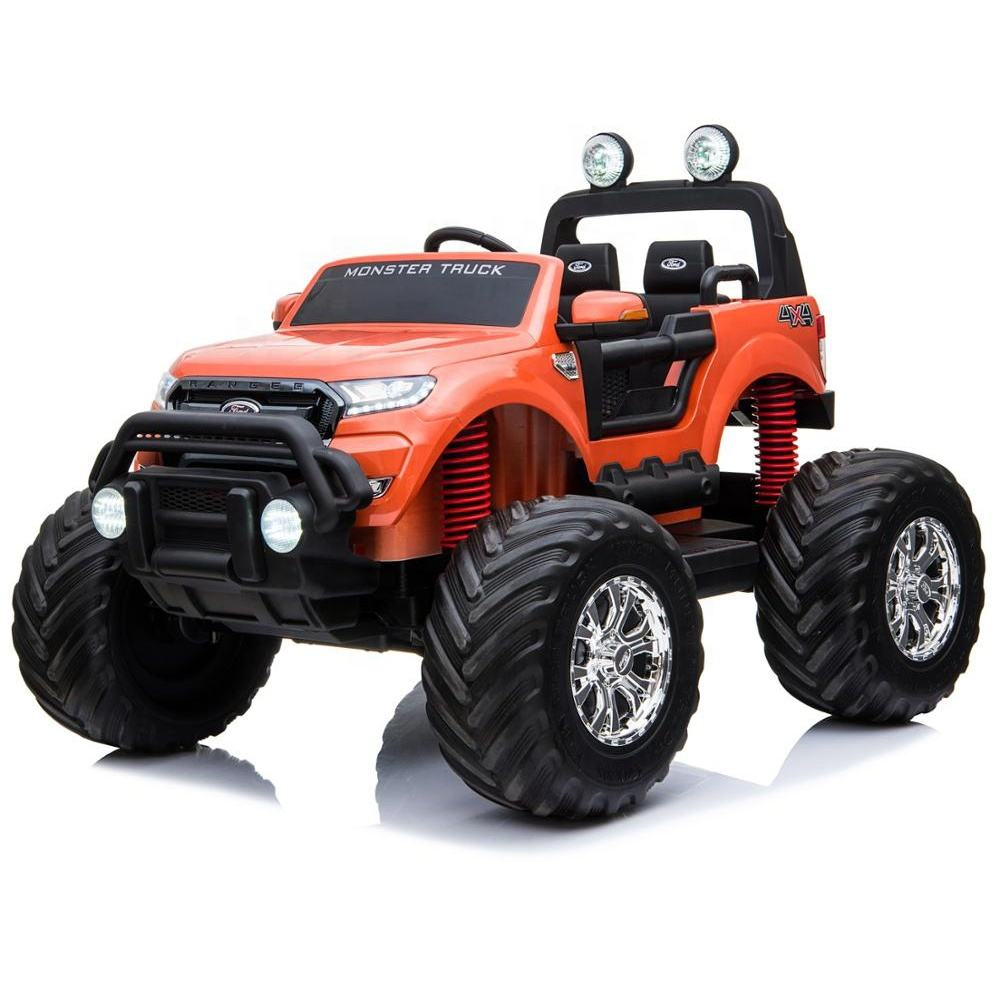 New design four wheels electric children toys car Ford Ranger licensed ride on car