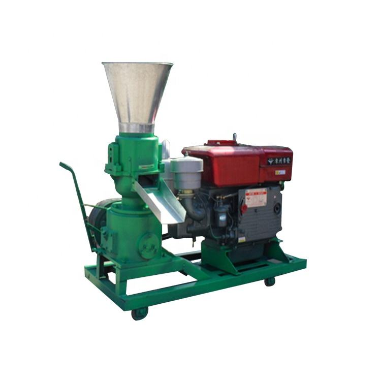 100kg/h automatic wood pellet making machine corn starch for animal feed