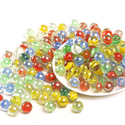 China Factory 17mm 19mm 22mm 25mm Rounds Glass Marbles For K