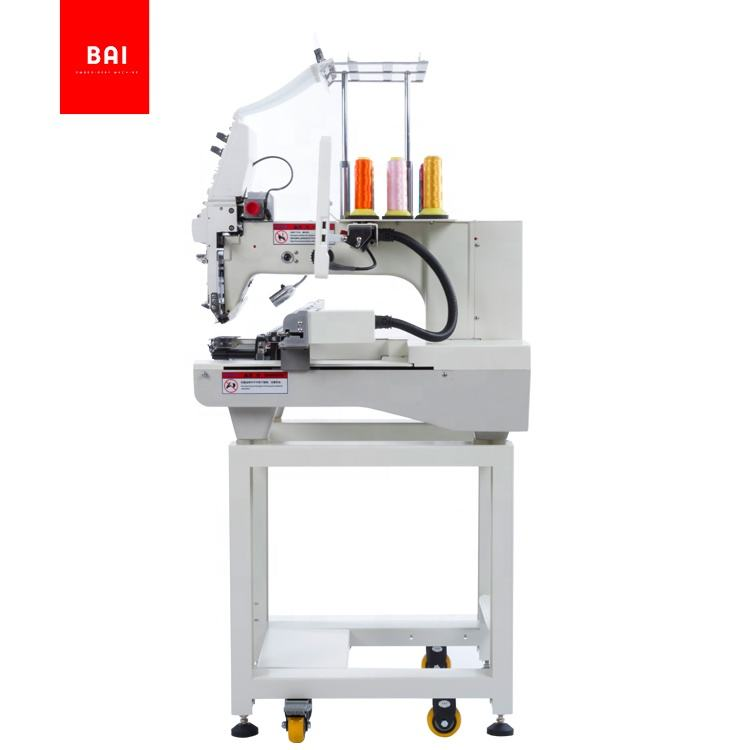 BAI computerized single head embroidery machine for flat hat t shirt