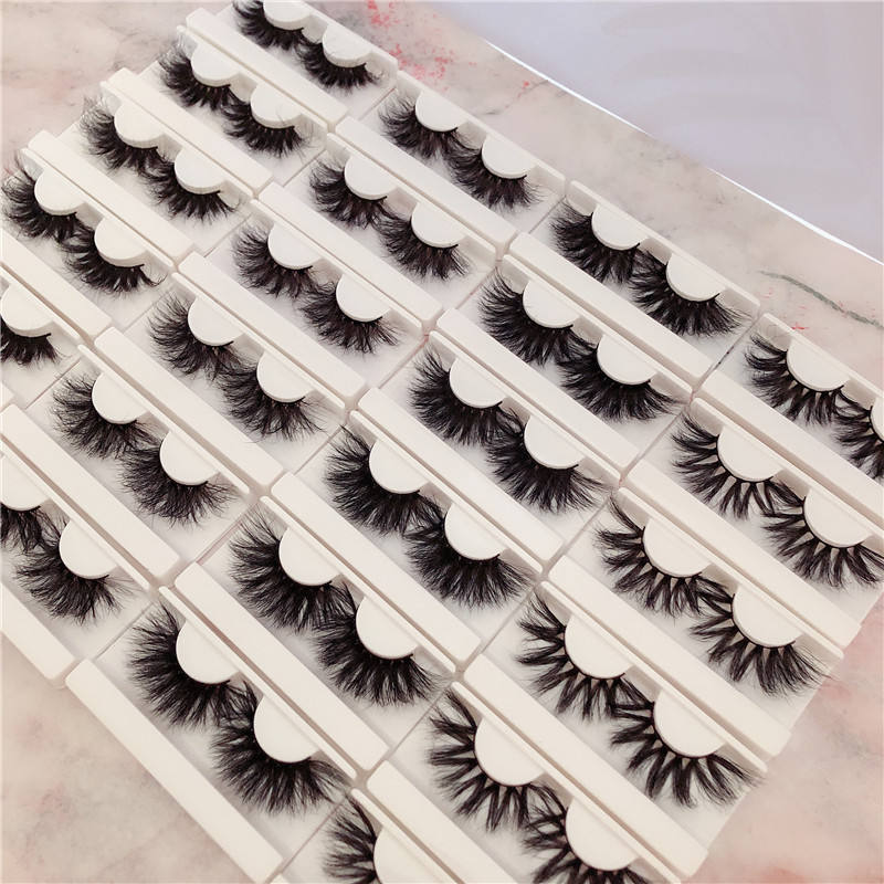 charm lashes own brand private label 5d cruelty free 3d mink eyelashes with custom packaging