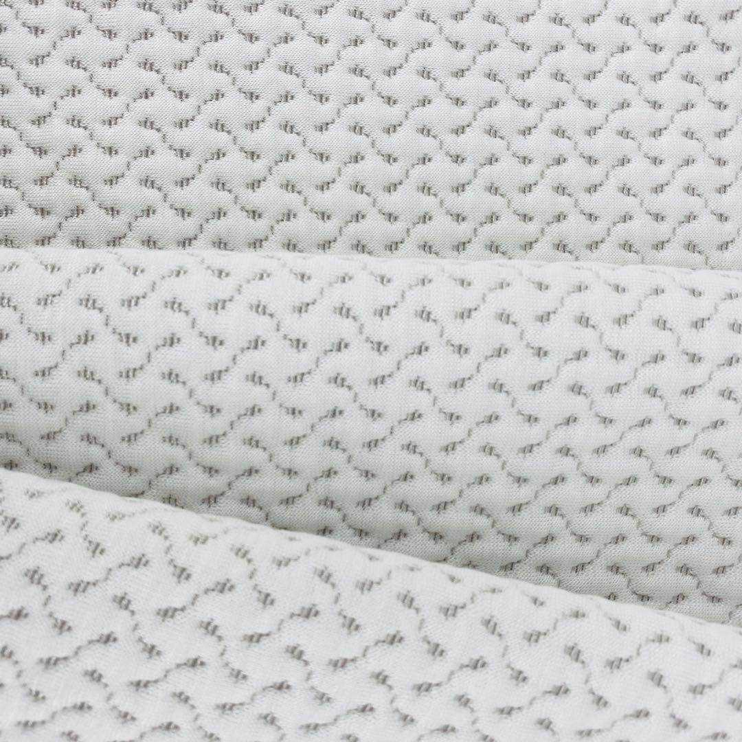 wholesale cotton woven knit jacquard air layer mattress fabric for sofa cover bedding fabric