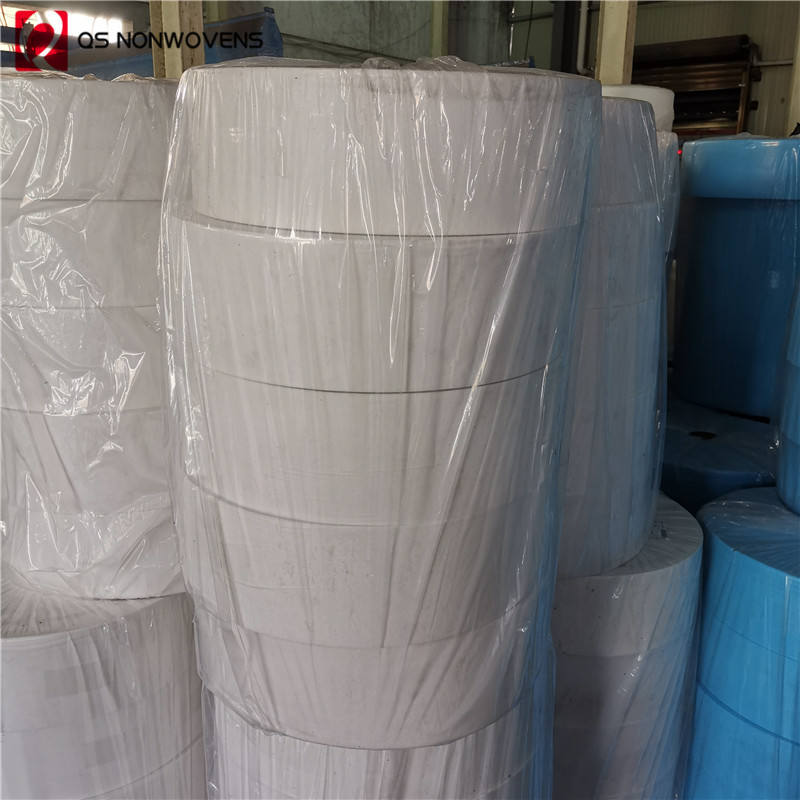 25g White pp spunbond nonwoven for hygiene and non-woven fabric for disposable protect