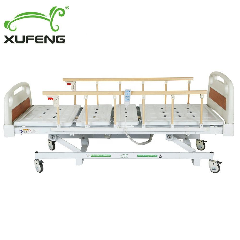 XF8341 homecare super low three functions electric medical bed price for nursing