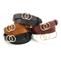 Factory OEM Wholesale Fashion Casual Women Belt Pu Leather B