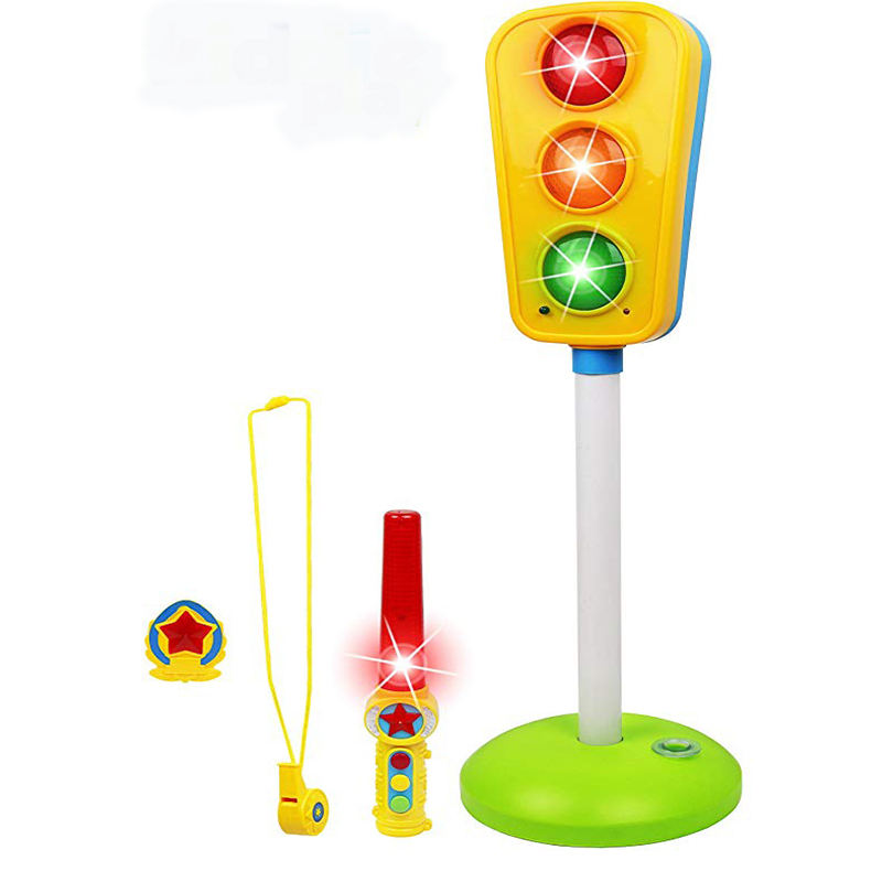 Traffic Light Toy For Kids Cars And Bikes With Lights And Sounds