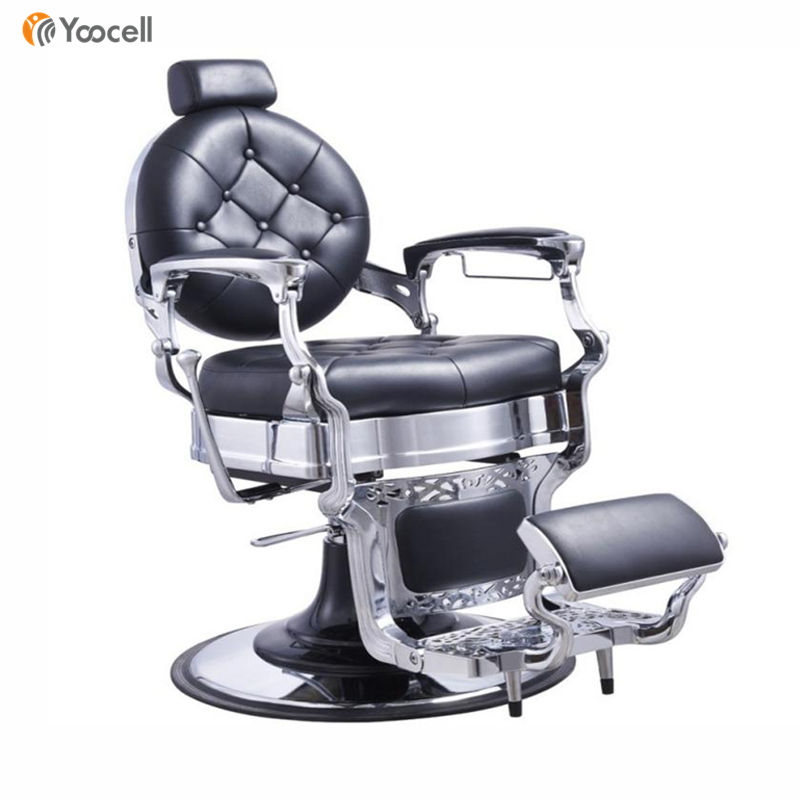 Yoocell Luxus <span class=keywords><strong>Edelstahl</strong></span> Heavy-Duty Barber <span class=keywords><strong>Stuhl</strong></span> für salon liege barber <span class=keywords><strong>stuhl</strong></span>