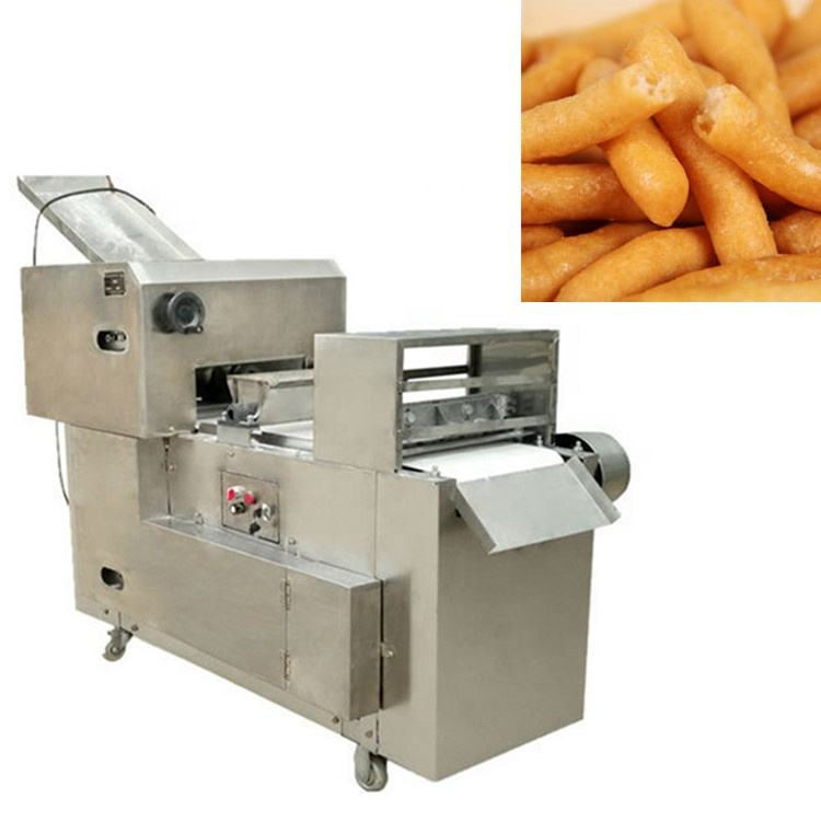 304 stainless steel commercial snack food fried food cutting making equipment chinchin forming making cutter machine