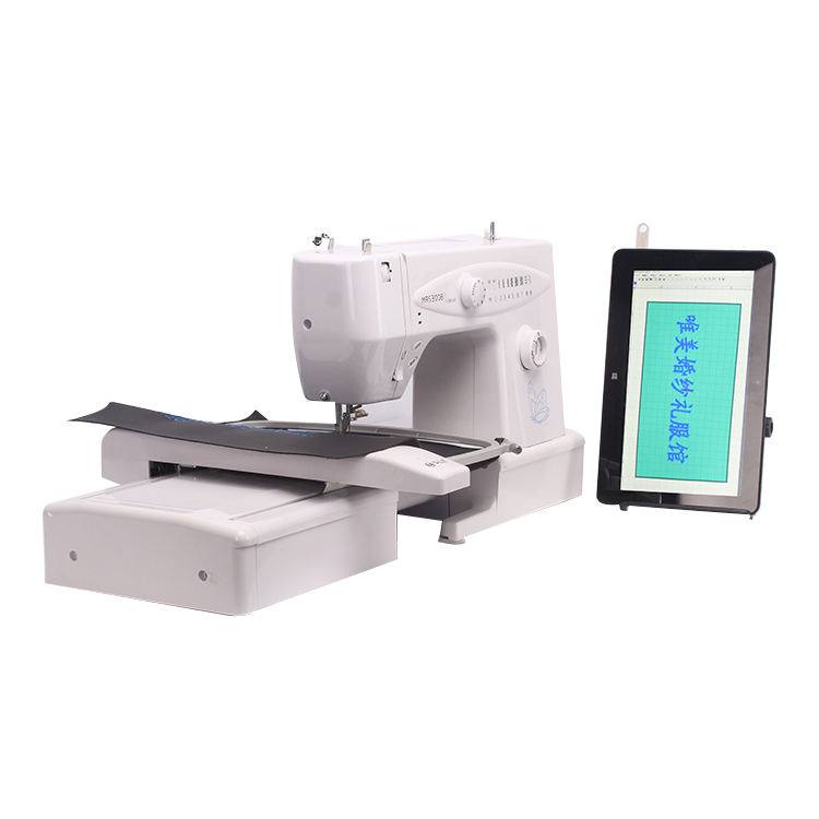 Sell Well New Type Digital Flat Small Computerized Embroidery Machine