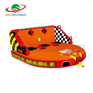 Pabrik Towables 2 3 4 Orang Inflatable Olahraga Air Jet Ski Towable Ski Tabung