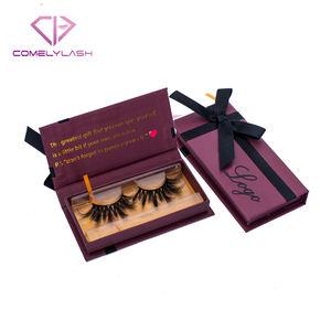 Top Mink Lashes Cruelty Free 3D Mink Eyelashes Packaging Box For False Eyelashes