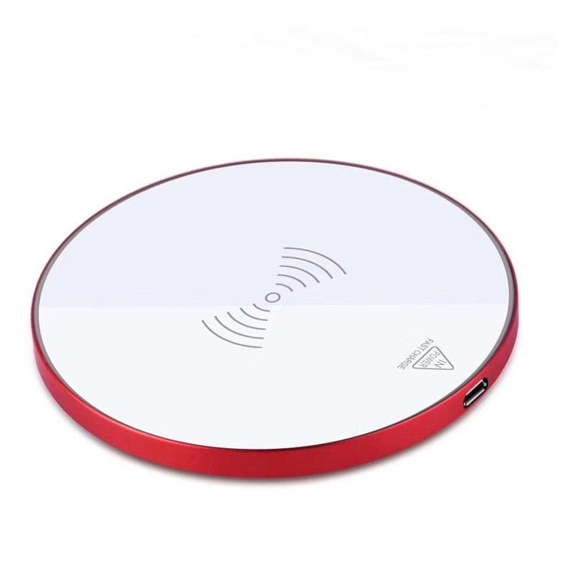 Ready To Ship Qi Wireless Charger Cell Phone Wireless Charging Charger On Sale
