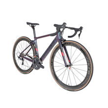 Holographic color aero racing 700C Full carbon road bike ultegra with carbon wheels