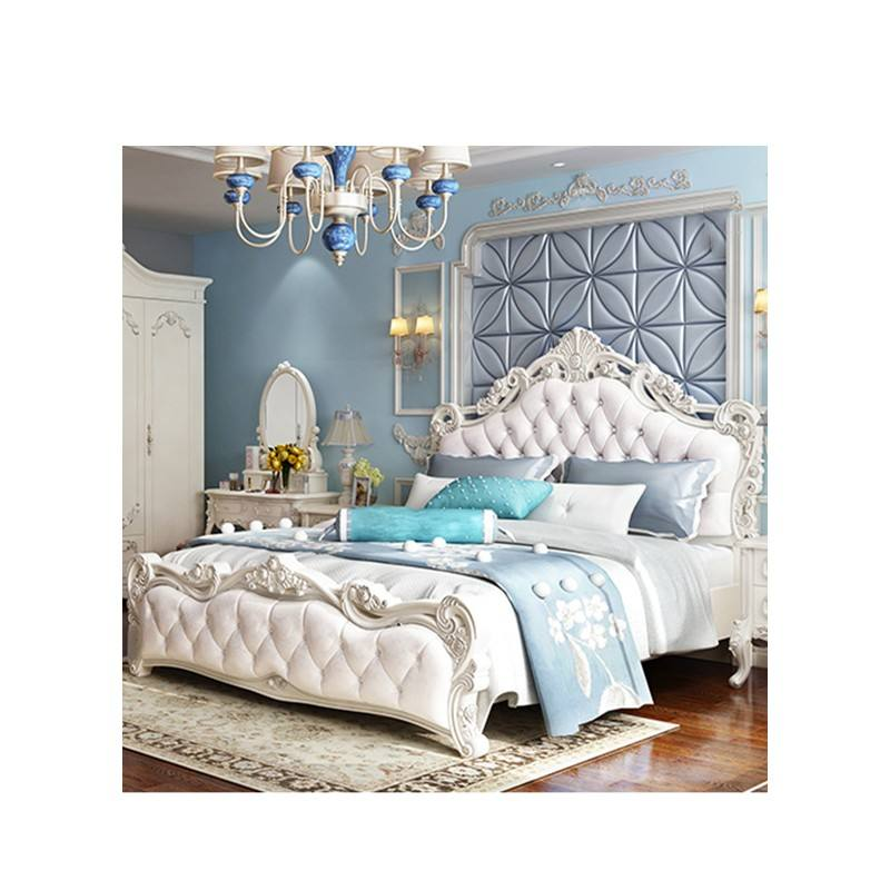 Meubles de <span class=keywords><strong>chambre</strong></span> à coucher importés d&amp;#39;étudiant de salon bon marché de garde-robe de style royal de luxe turc