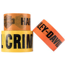 Hot Sale Customize Printed PE Signal No Adhesion Safety Flagging Barrier Warning Tape