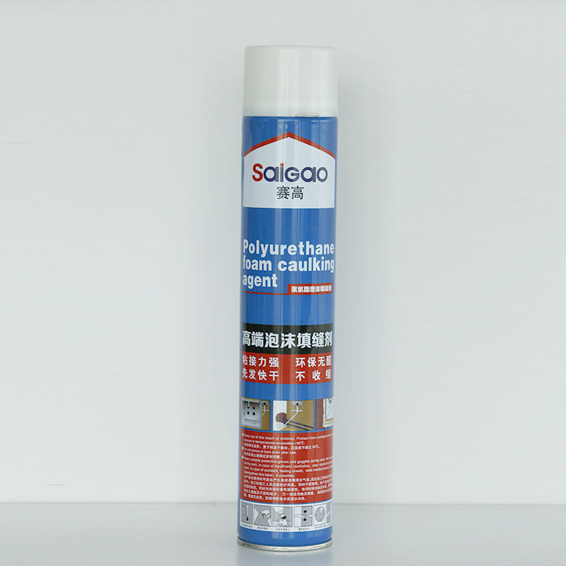 Large expansion 750ml liquid spray polyurethane foam