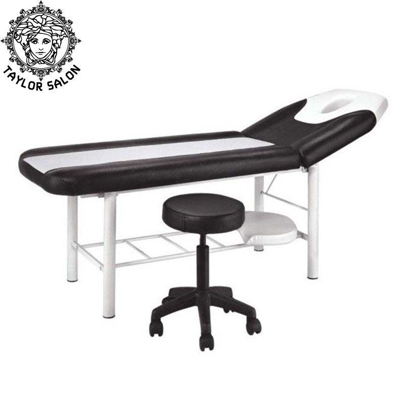 OEM massage table portable facial spa bed lash chair with master stool