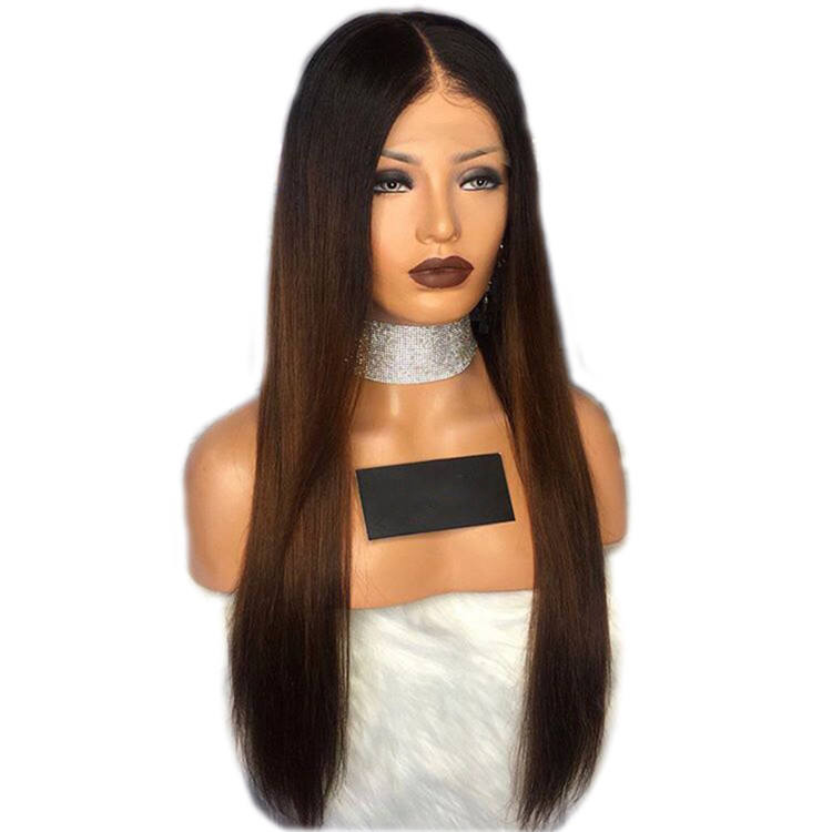 Partschoice Fashion Straight Cheap Ombre Nature Black Hair Wholesaler Synthetic Wig