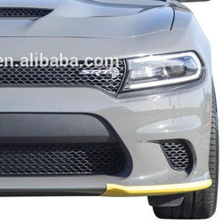 2015-2020 Charger Hellcat / Scat Pack  Yellow Splitter Protectors 68327084AA 68327085AA