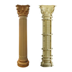 Plastic factory hot sales high quality roman pillar concrete roman column mould