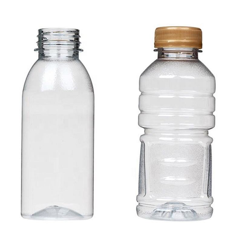 PLA environmental resistant high temperature beverage bottle simple fashion biodegradable mineral water bottle