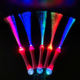 Party gift OEM supplier colorful glowing fiber optic wand customized LOGO LED light stick