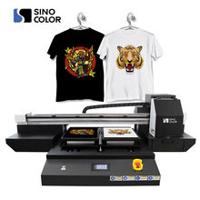 A2 size direct to Garment printer TP-600D with dual heads for t shirt printing